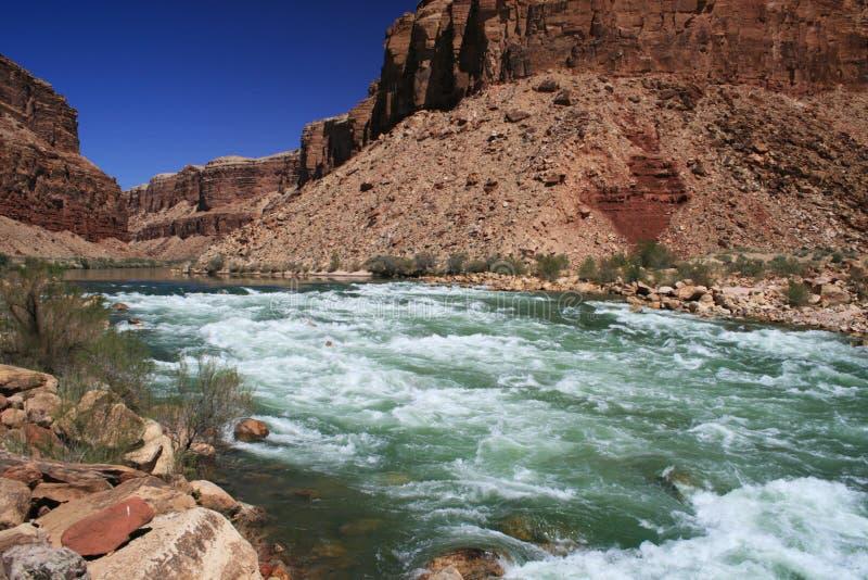 Snelle de Rivier van Colorado royalty-vrije stock afbeelding