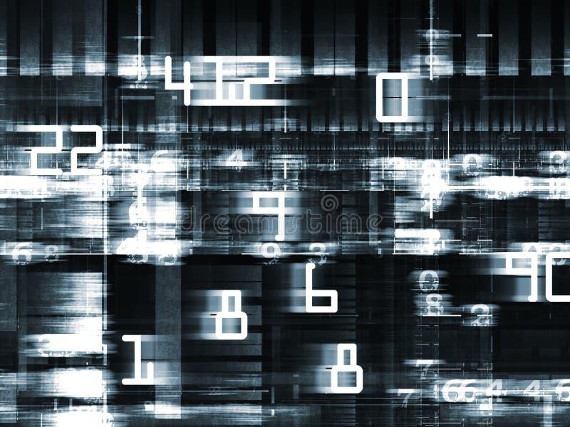 Snelle Digitale Wereld royalty-vrije illustratie