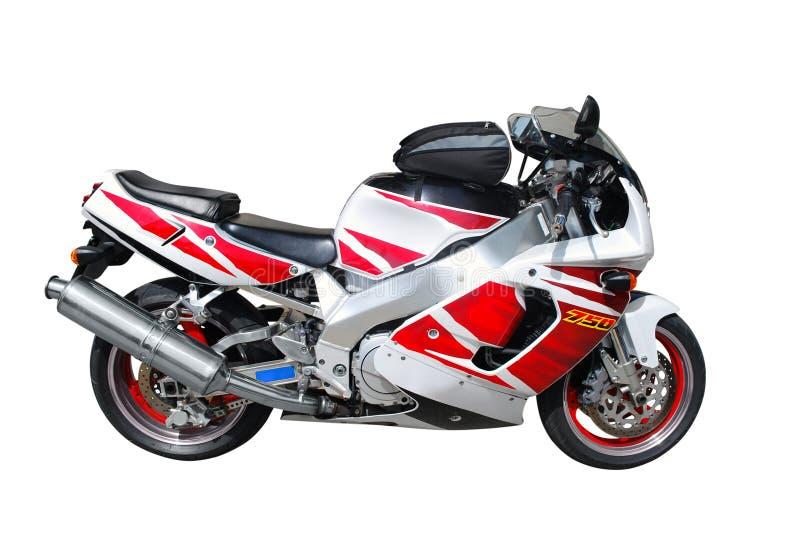 Snelle motorfiets stock fotografie