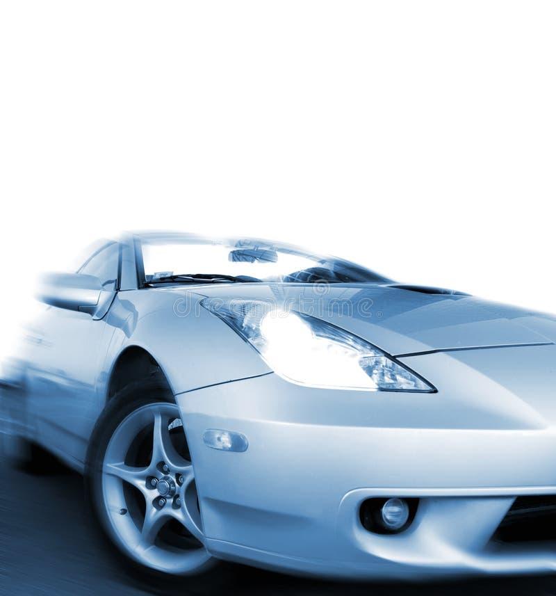Snelle sportwagen stock fotografie