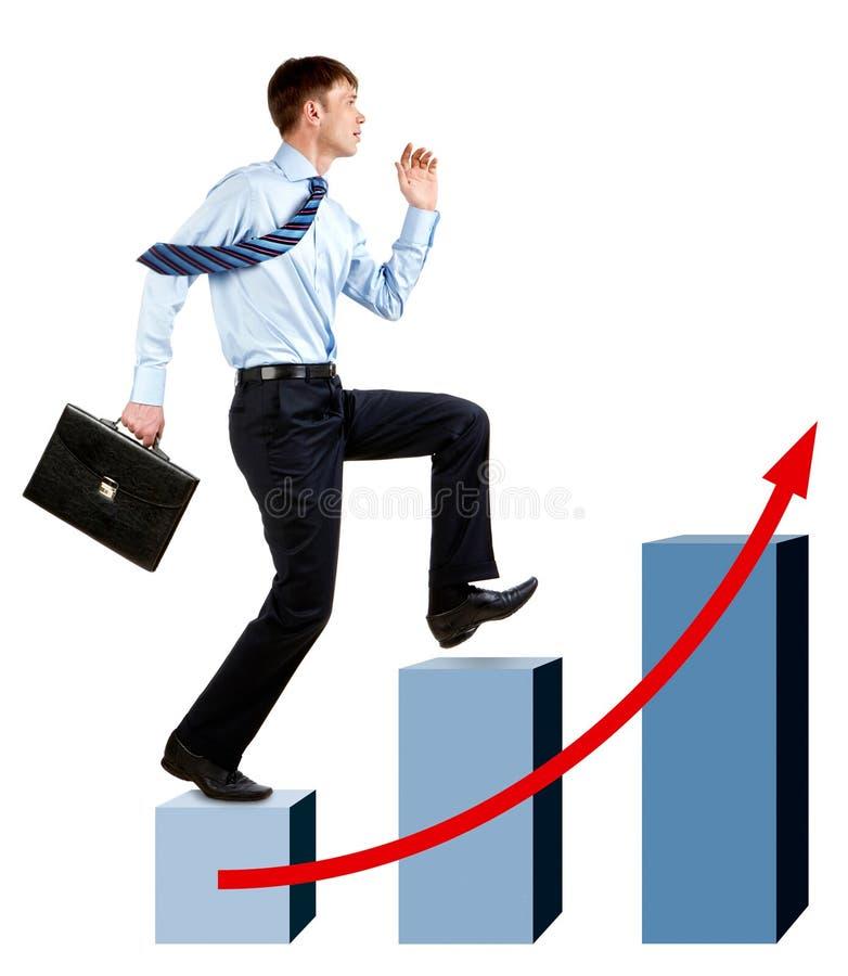 Snelle stijging stock afbeelding