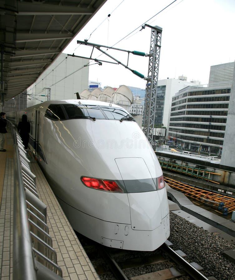 Snelle trein stock afbeelding