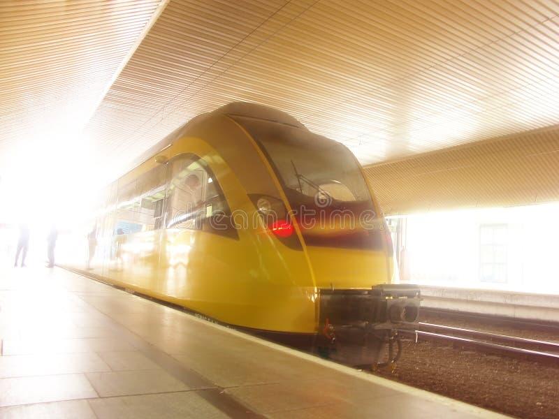 Snelle trein stock foto