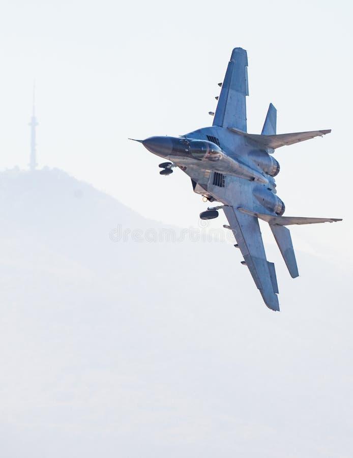 Snelle Vechter Jet Flight stock fotografie