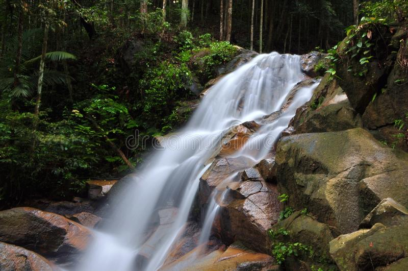Snelle waterval stock afbeelding