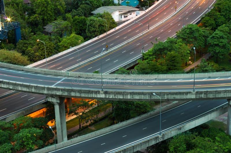 snelweg royalty-vrije stock foto