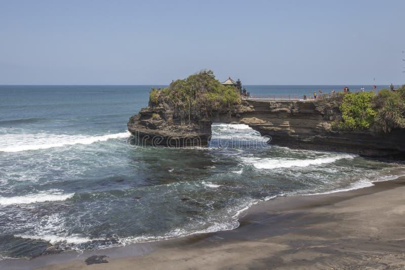 Snenic sikt av stranden i Bali arkivfoto