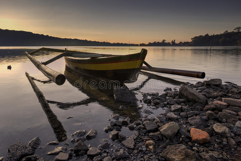 Snenic view of beach in Bali stock images