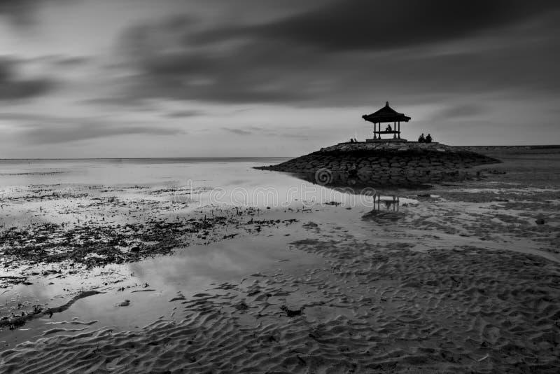Snenicmening van Strand in Bali royalty-vrije stock afbeelding