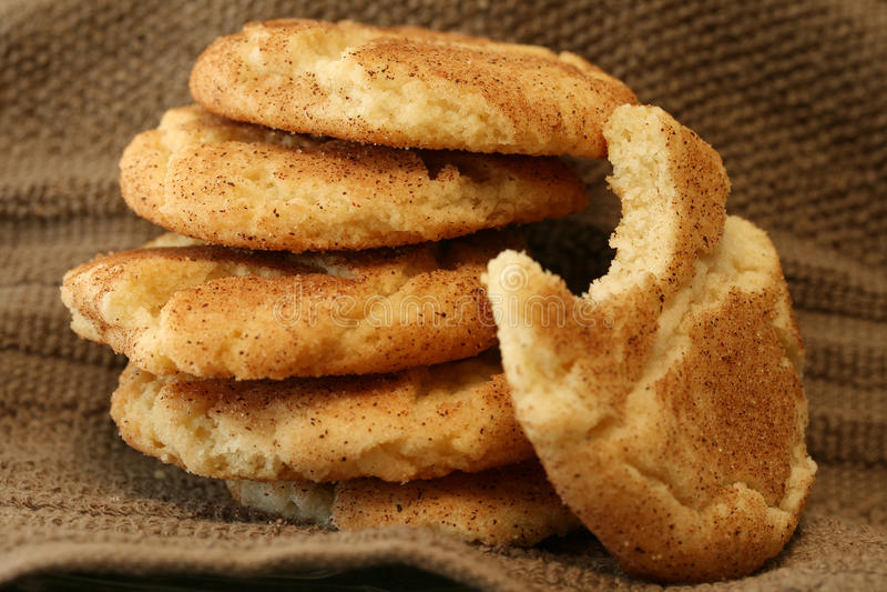 Snickerdoodles Cookies stock image