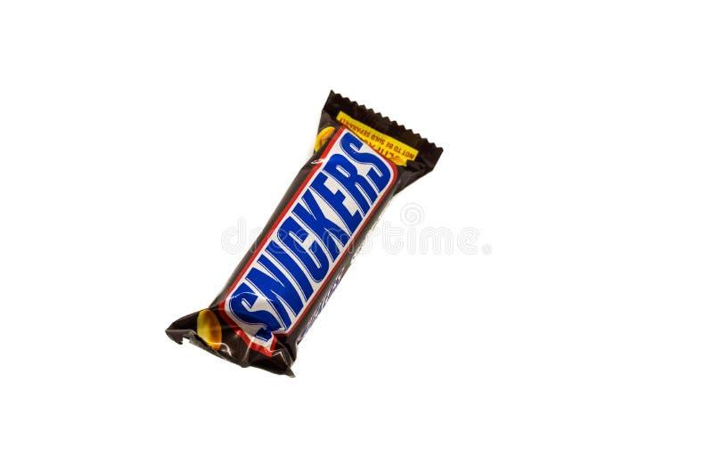 Snickers zakazują w opakowaniu fotografia royalty free