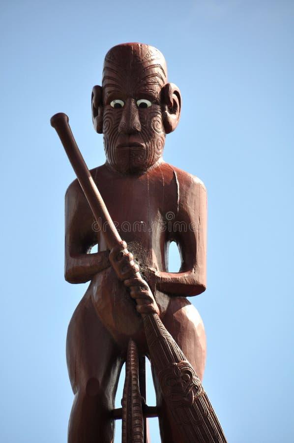 Snida för maorimötehus royaltyfria bilder