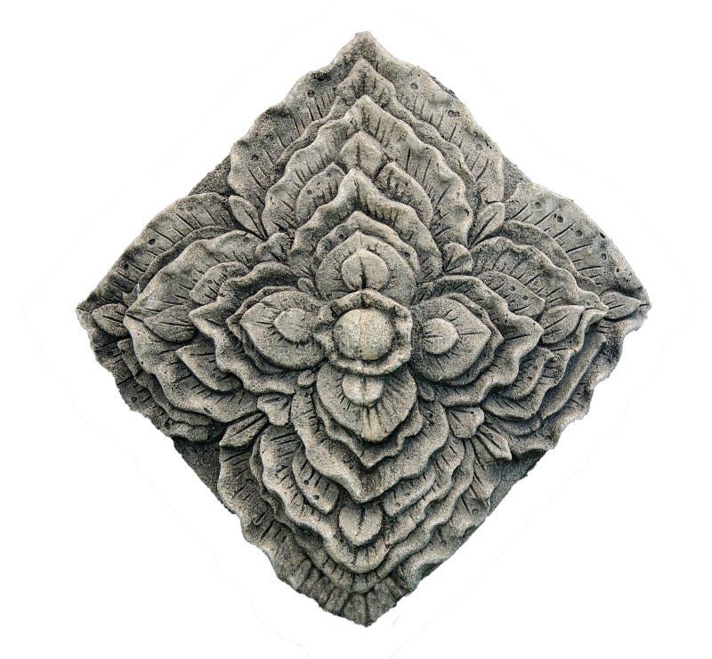 Snida stenen av blomman fotografering för bildbyråer