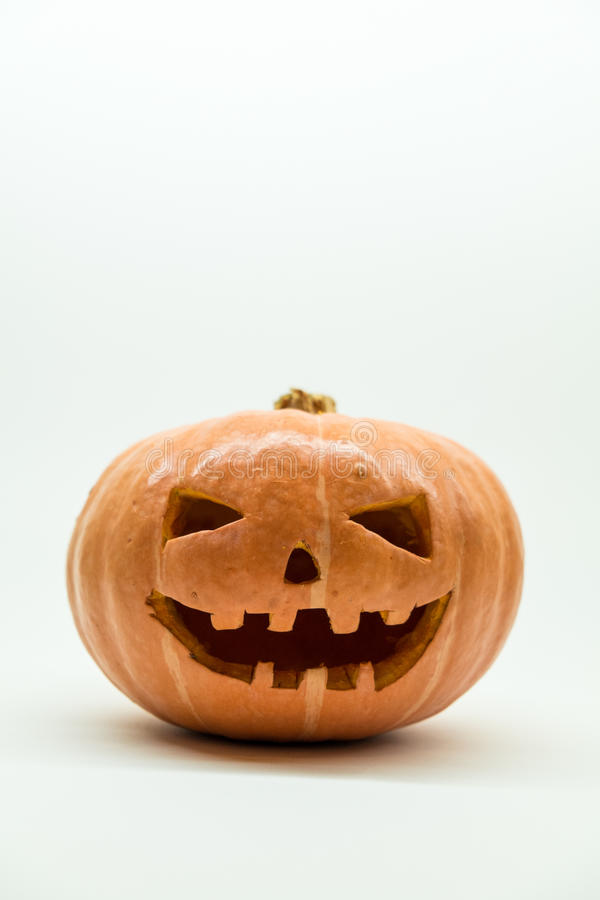 Download Sniden halloween pumpa fotografering för bildbyråer. Bild av framsida - 78727777