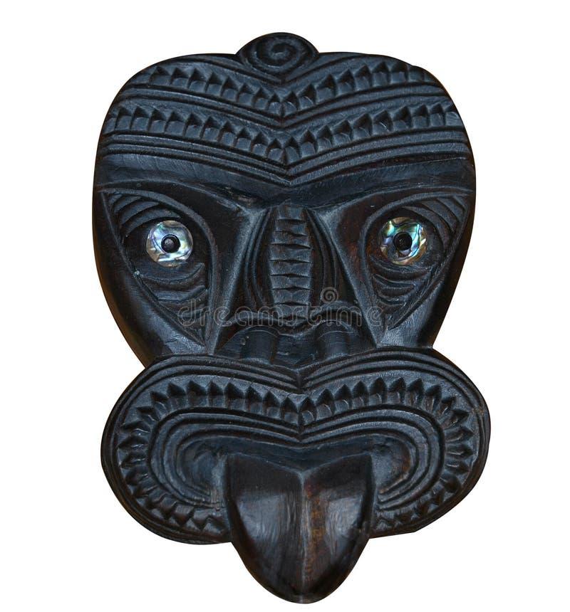 snidit maori maskeringstikiträ
