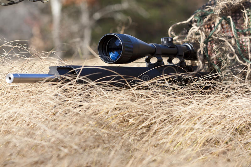Download Sniper stock image. Image of hunter, military, ghillie - 16642719