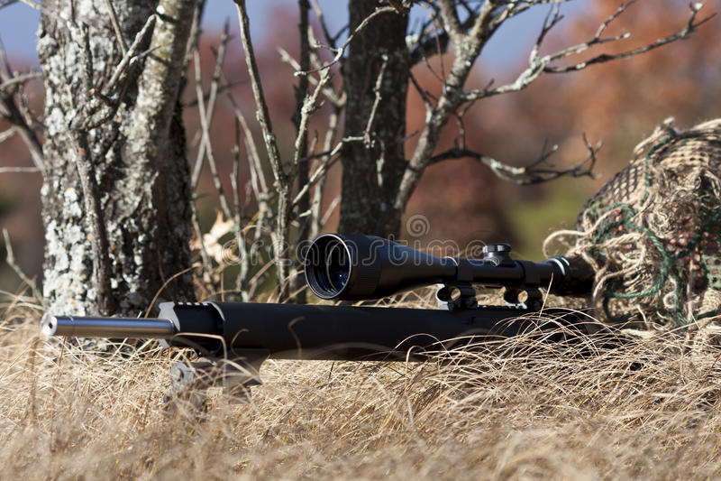 Download Sniper stock image. Image of cloak, hunter, armed, clothing - 16642743