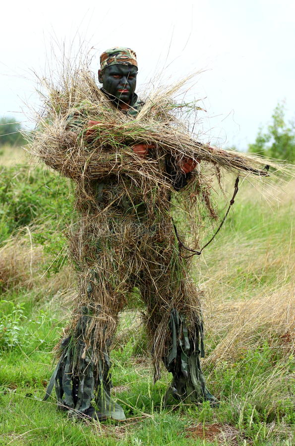 Download Sniper stock photo. Image of adult, caucasian, forest - 24738546