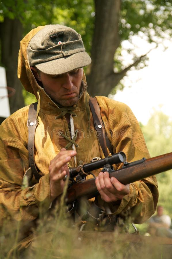 Download Sniper stock photo. Image of human, warrior, history - 26066694