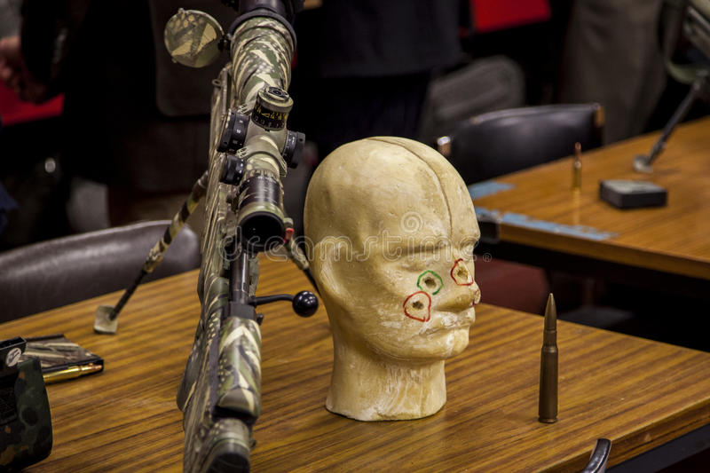Download Sniper equipment stock image. Image of exposition, shot - 37385899