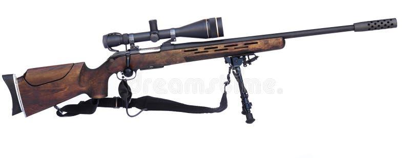 Download Sniper Rifle stock image. Image of hunter, shape, shooting - 25398767