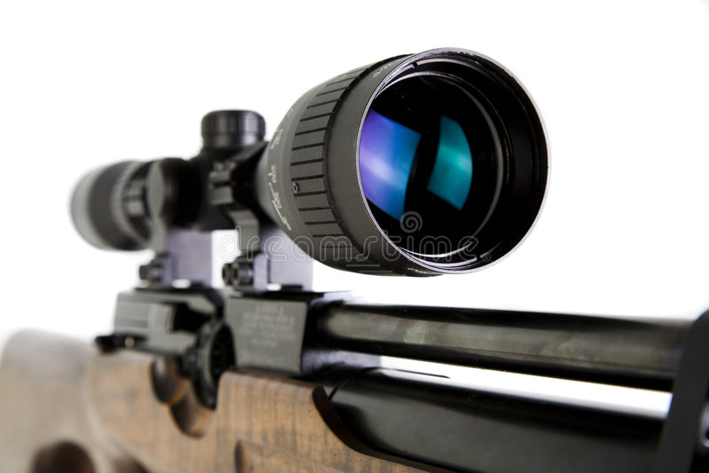Sniper Rifle royalty free stock photos