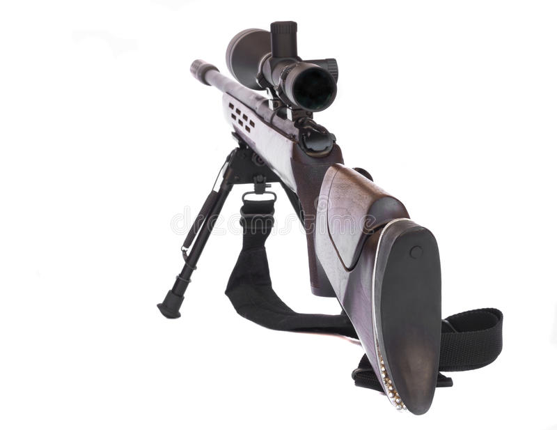 Download Sniper Rifle Rear stock image. Image of army, kill, nobody - 25398731