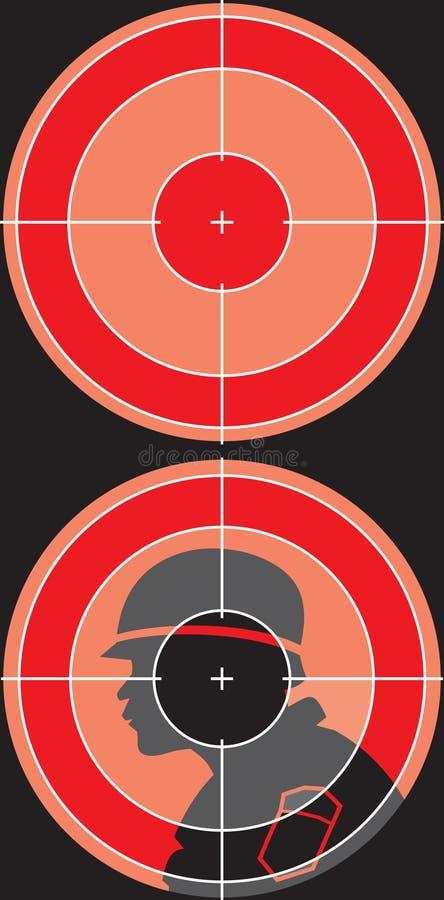 Download Sniper sight stock vector. Illustration of invisible, idea - 6360730
