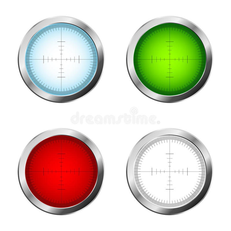 Download Sniper target stock vector. Image of objects, illustration - 16939497