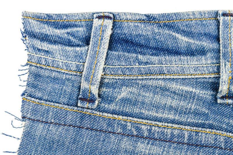Snitt av jeanstyg royaltyfri fotografi