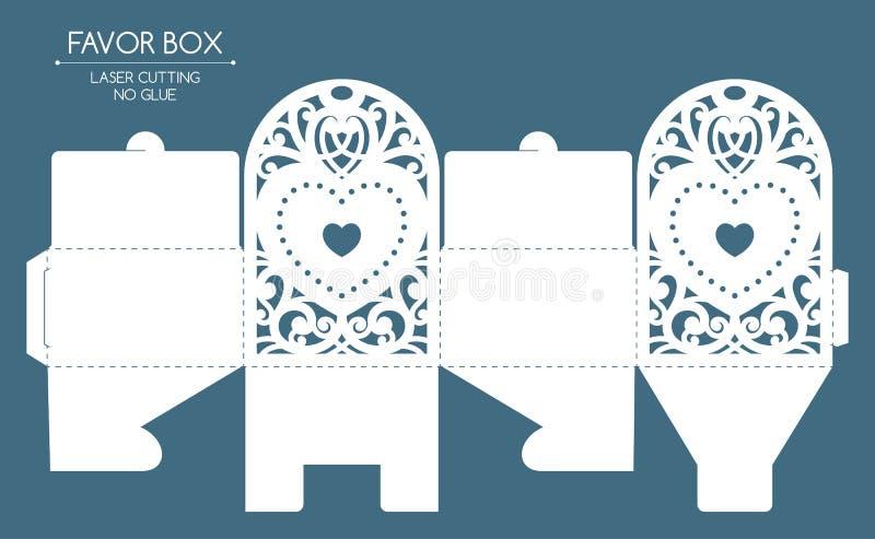 Snitt för favörasklaser royaltyfri illustrationer