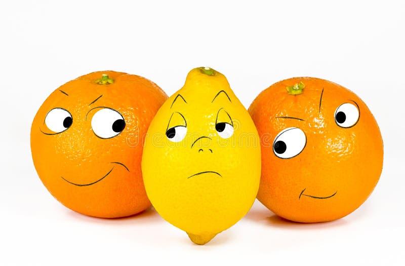 The snob lemon stock image
