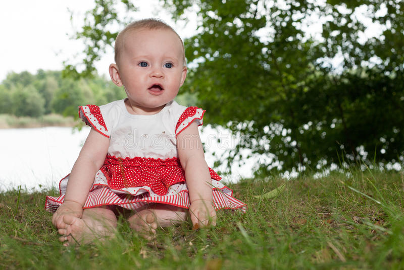 Snoepje weinig baby royalty-vrije stock afbeelding