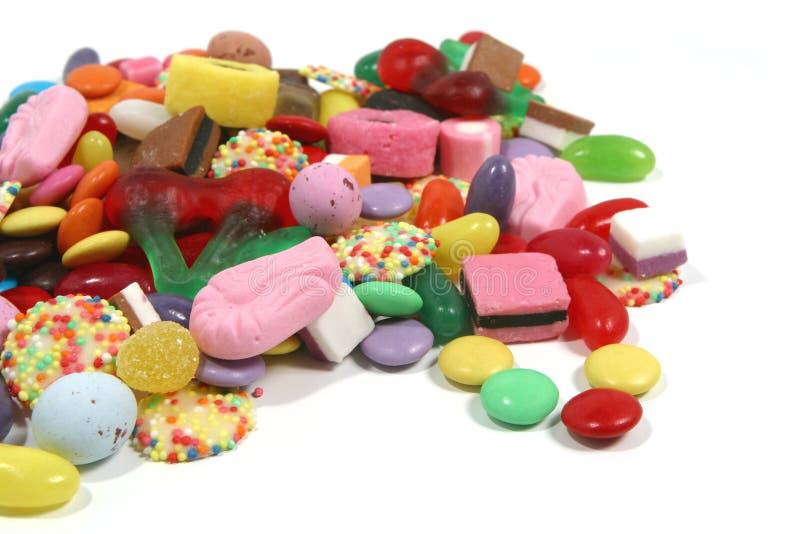 Snoepjes stock afbeelding