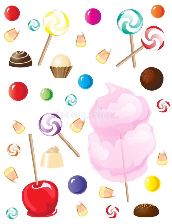 Snoepjes stock illustratie
