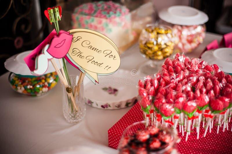 Snoepjes en Snacks royalty-vrije stock foto's