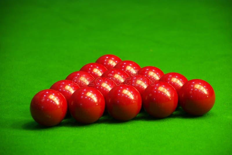 Snooker fotografia stock
