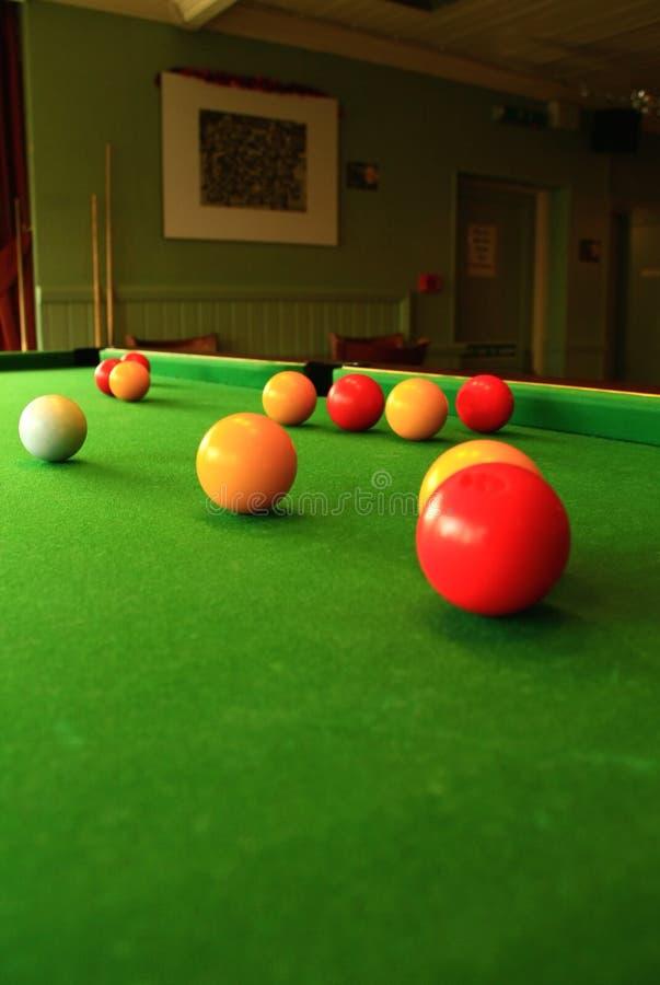 Snooker 2 fotografia de stock