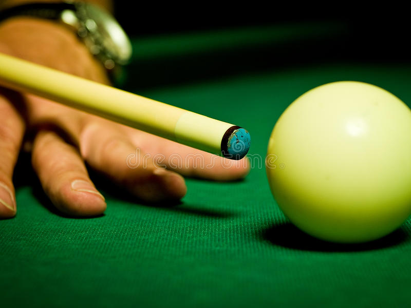 Snooker stock image