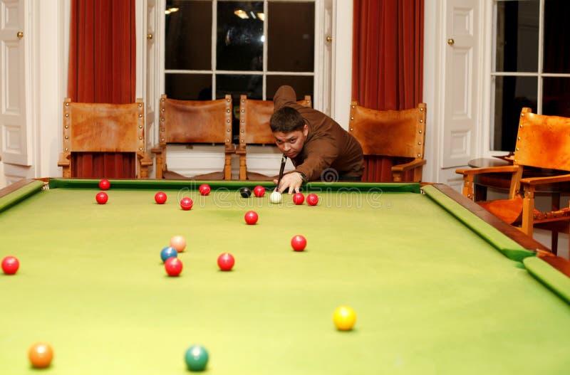 Snooker stockfotografie