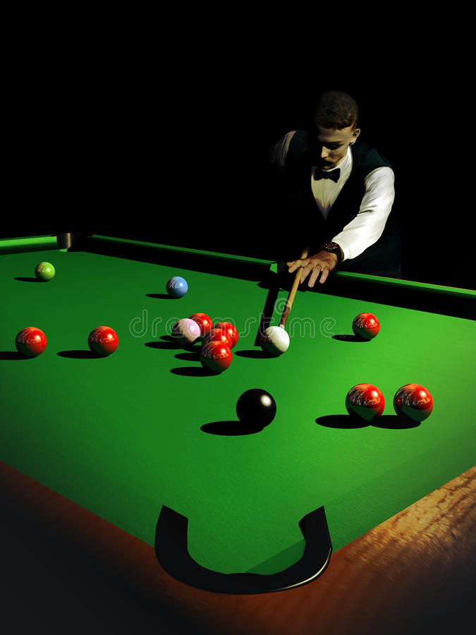 Snooker ilustracji