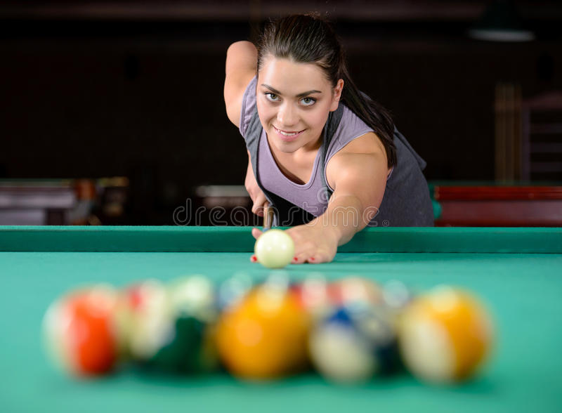 snooker fotografia stock