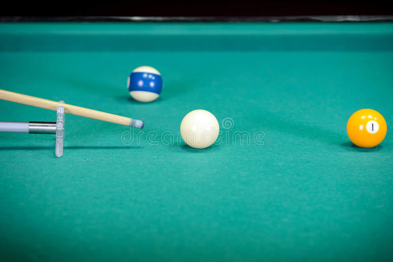 snooker foto de stock royalty free