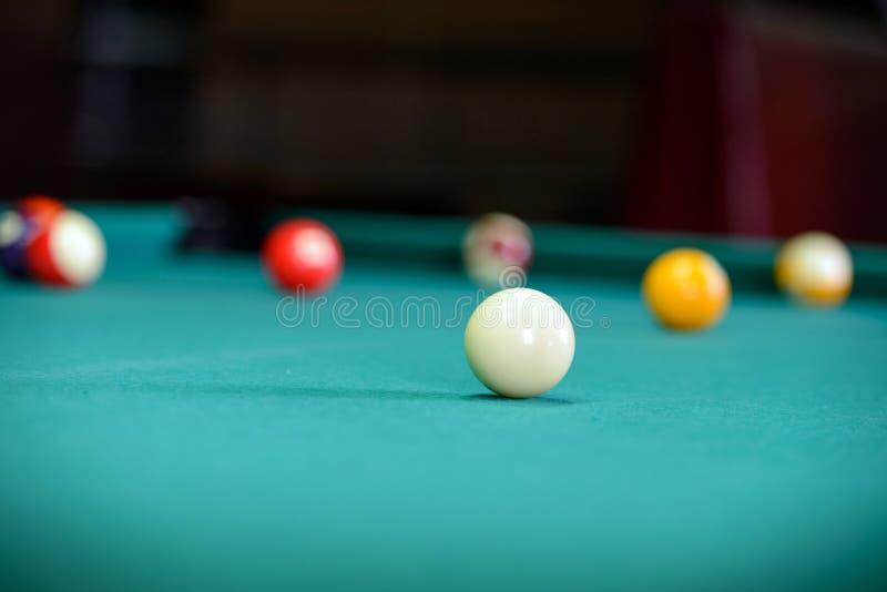 snooker foto de stock
