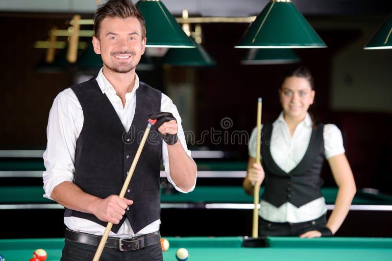 snooker immagini stock