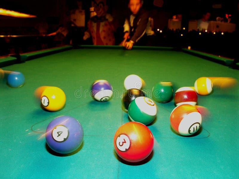 Snooker lizenzfreies stockfoto