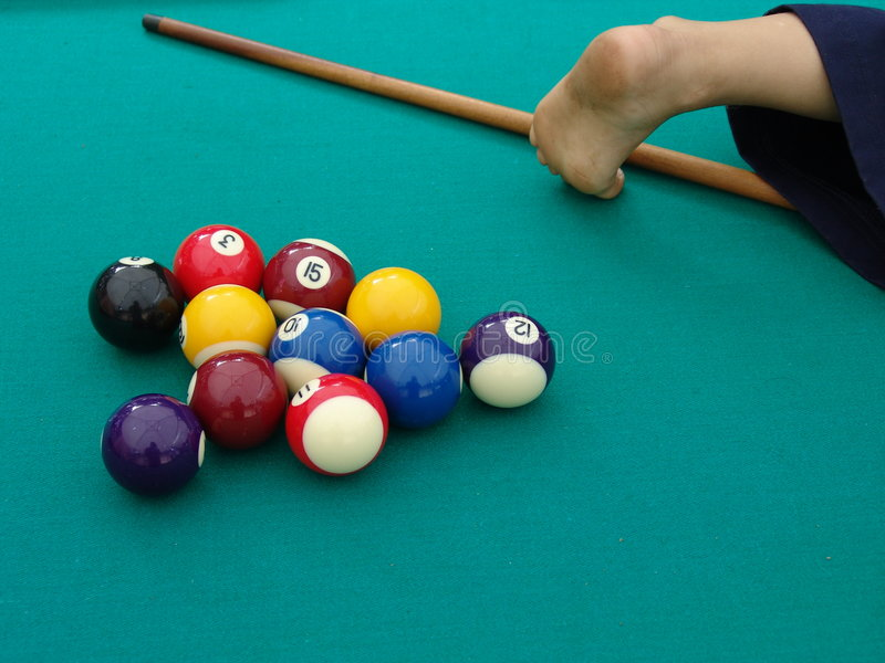 Download Snooker stock photo. Image of entertainment, pool, child - 735912