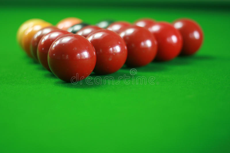 Download Snooker ball stock image. Image of color, eight, setting - 27640679