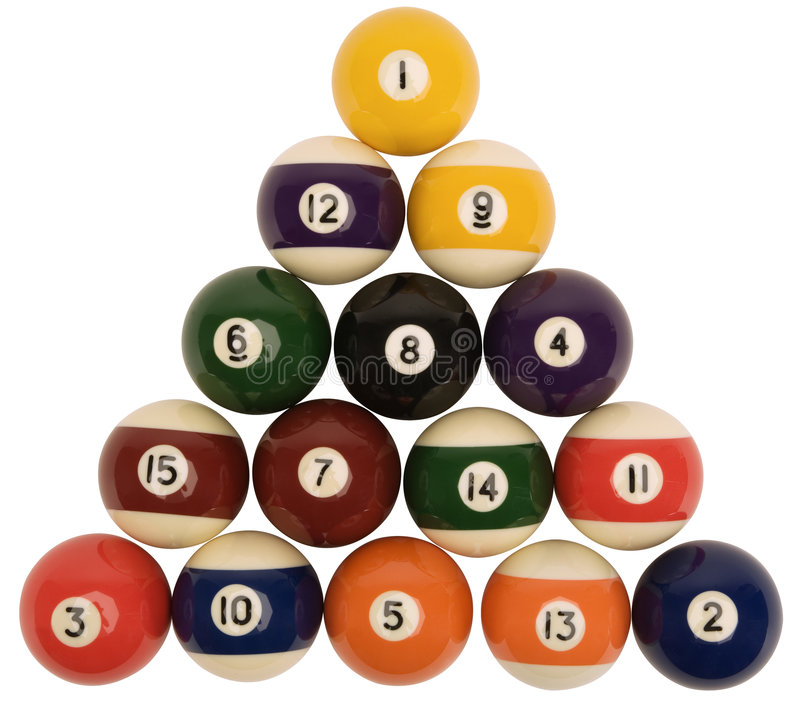 Free Snooker Balls Stock Photography - 3446382