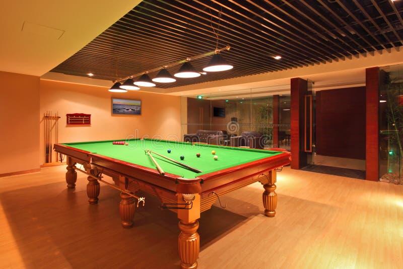 Snooker, basen bawić się pokój/ obraz royalty free